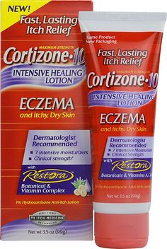 Cortisone 10 Intensive Healing Lotion Eczema Cream Love this! Helps with cracked, dry skin on my hands and face. Laser Eye Surgery Cost, Eczema Relief, Itch Relief, Skin Dermatologist, Dry Skin On Face, Anti Itch Cream, Eczema Remedies, Snoring Remedies, Tips