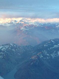 Vales Nevados / cordilheiras dos Andes Chile