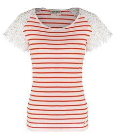 Scarlett Top (Flame Stripe) Summer Collection, Diesel, Spring Summer, Tops, Women, Fashion, Diesel Fuel, Moda, Fashion Styles