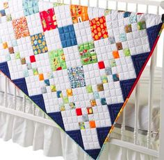 boy quilt @ craftsy = great straight line quilting