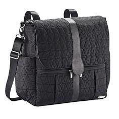 fff8ba4ccf0 JJ Cole Tri-Stitch Diaper Bag Backpack - Black