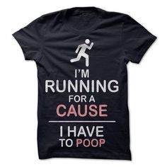 Im Running for a cause - #tshirt serigraphy #sweatshirt upcycle. TRY  => https://www.sunfrog.com/Faith/Im-Running-for-a-cause.html?id=60505