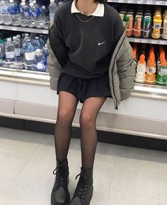 Source by fall outfits casual Indie Outfits, Cute Casual Outfits, Edgy Outfits, Retro Outfits, Vintage Outfits, Fashion Outfits, Soft Grunge Outfits, Grunge Dress, Grunge Girl