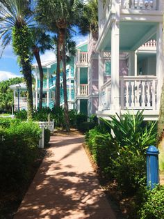 Love the architecture behind this resort!--Disney's Old Key West Resort