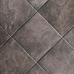"""Crossville Porcelain Tile - Strong Nero. Look and feel or real slate and can be used in commercial applications. I could see this being used in a rustic style boutique as a flooring . Comes is modular sizes for different design concept and all are 3/8"""" thick. Designed for walls and floors with strong breakage strength, so it can also be used for exteriors. easy to clean and maintain."""