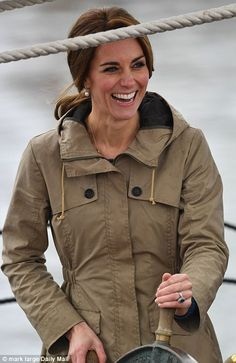 Kate Middleton and Prince William ditch fishing gear on final day of Canada tour | Daily Mail Online