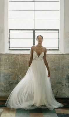 Whether or not you're getting engaged or married anytime soon, you'll want to see this designer's stunning wedding dresses. Check out our interview here. Stunning Wedding Dresses, Beautiful Dresses, Wedding Gowns, Wedding List, Our Wedding, Dream Wedding, Interview Dress, Dream Dress, Bridal Style