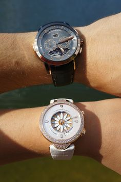 You and me : life match for a luxury lifestyle. Breitling, Perfect Match, Luxury Lifestyle, Watches, Accessories, Clocks, Clock