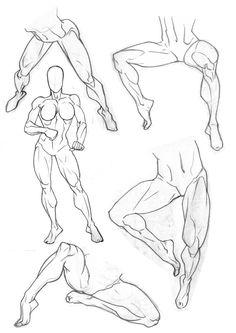 Sketchbook: Legs by Bambs79 on deviantART