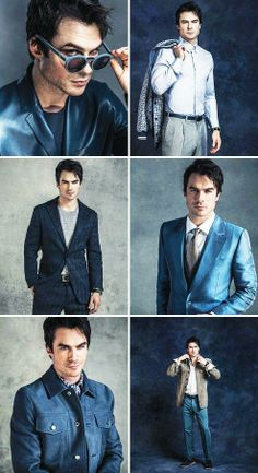 Ian Somerhalder the only one worthy for the role of Christian Grey..he is Christian Grey.