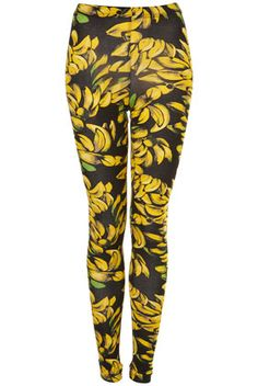 bananas!!! Yeah... I would wear these. Somehow, I would wear these with a skirt and blind everyone in my path.