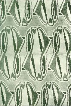Henry van de Velde. Carpet design, 1901.