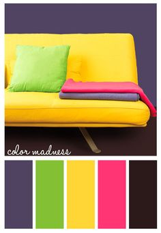 Color Madness #color #neon #intense #inspiration