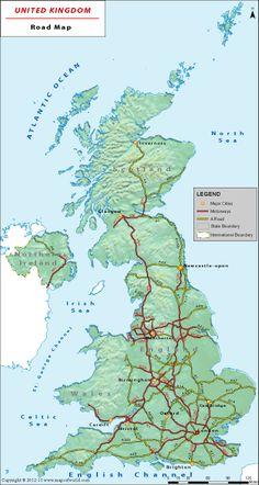 Map Of England Motorways.27 Best British Motorways Images Roads Photo Galleries Nostalgia