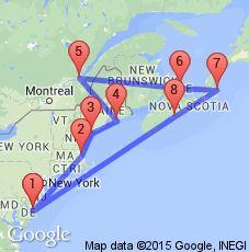 Canada & New England | AAA Southern Pennsylvania
