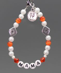 Armband MAMA Nr. 10 von TANBI-mommies auf DaWanda.com