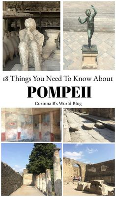 Things You Probably Didn't Know About Pompeii. 18 amazing facts about Pompeii. Pompeii is one of the most sensational sites in all of Italy. Your visit to Pompeii will be much more fascinating if you know these 18 things prior to going. Read on to find out more.