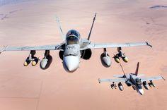 USMC F-18 Hornets