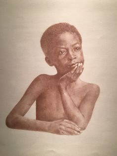A slave child from Charleston, SC, c. 1861 from the collection Beloved: Legacy of Slavery by Mary Burkett.