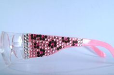 328343751c55 Who has pink cheetah rhinestone safety glasses  Science Divas! And you.