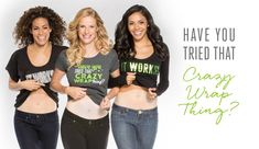 HAVE YOU TRIED THAT CRAZY WRAP!?   Try one for $25 or get a box of 4 for $59 as a loyal customer! Contact me for more information!