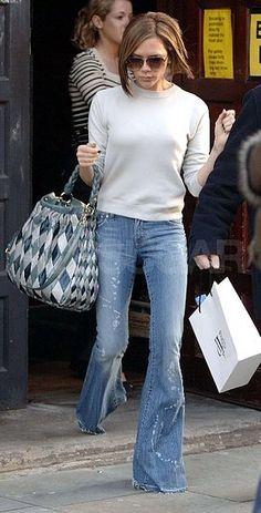 The Look For Less: Posh's Miu Miu Harlequin Bag