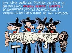 Adão + Angeli + Glauco + Laerte