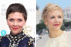 Gyllenhaal has been sporting a pixie for awhile now, so she is no stranger to drastic hairstyles. But she took her look one step further and debuted a new bleach-blonde chop at Cannes.   - Redbook.com