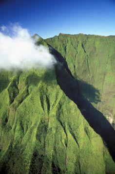 Mt Waialeale, Kauai, Hawaii, Photograph - Kauai Mt Waialeale Fine Art Print - Dana Edmunds - Printscapes