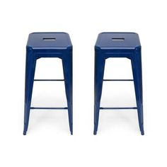 Retro Counter Stool-Set of 2 | dotandbo.com