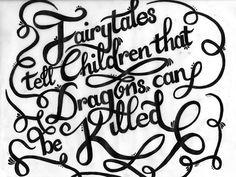 Calligraphic quote