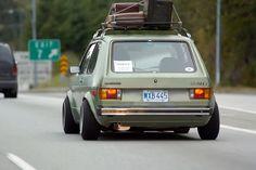 VW Rabbit - MK1 Roof Rack