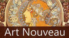 Art Nouveau o Modernisno surge en 1890. Es una corriente que buscó la renovación artística.  https://youtu.be/P4luPnObQYo