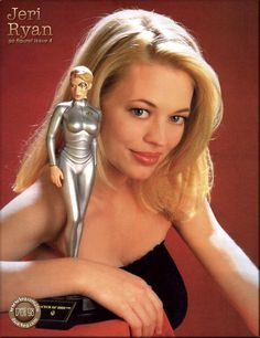 Jeri Ryan Gallery What a legacy - to have been such a sex symbol without being naked.  Well done.