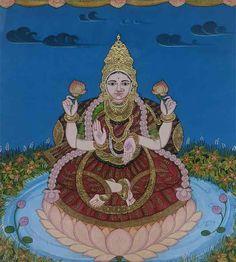 Mysore Painting, Madhubani Painting, Traditional Paintings, Traditional Art, Yashoda Krishna, Temple India, Paint Designs, Deities, Gallery