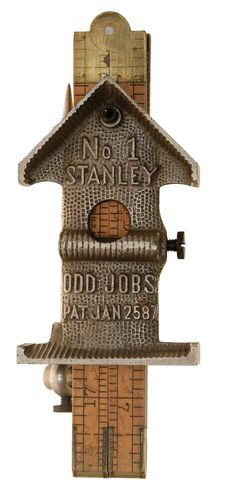"An ""Odd jobs"" patent combination tool, No. 1, by STANLEY, patented January 25, 1887. Martin J. Donnelly Antique Tools"