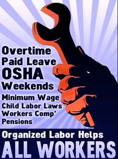 We alll need unions. There would be no decent wages nor benefits nor healthcare without them.