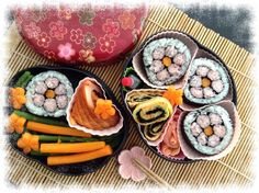 Flower Kazari Maki Sushi