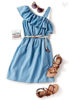 Preteen Clothing Stores Best Clothing Shops For Cute Comfy Outfits, Cute Girl Outfits, Little Girl Outfits, Kids Outfits Girls, Cute Outfits For Kids, Girly Outfits, Stylish Outfits, Girls Summer Dresses, Shoes For Kids