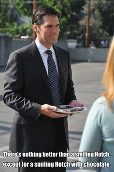 Smiling Hotch is a good thing.