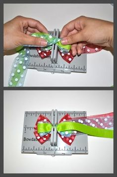 Two color bowdabra bow