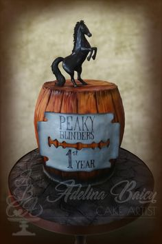 Peaky Blinders Themed Cake By Adelina Quot Le Torte