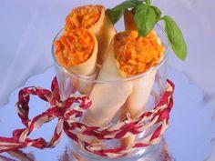 Cucuruchos o cañas de empanadilla Ana Sevilla cocina tradicional
