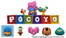 Logotipo pocoyo para imprimir Luigi, Yoshi, Cupcakes, Fictional Characters, Art, Stuff Stuff, Kid Lunches, Logos, Party