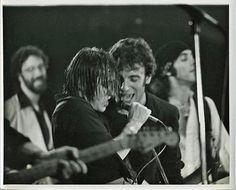 """thewildandthedarkness: """"Bruce Springsteen and Southside Johnny """""""