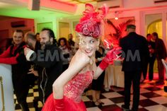 "The inauguration of the new season of the famous Burlesque Micca Club of Rome, was a party transgressive and nostalgic style ""Belle Epoque"" for people of all ages."