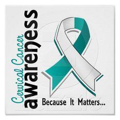 Cervical Cancer Awareness 5 Poster