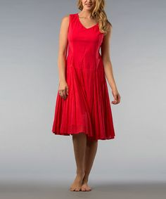 Take a look at this Coral Shift Dress by Kaktus on #zulily today!  $24.99, regular 99.00