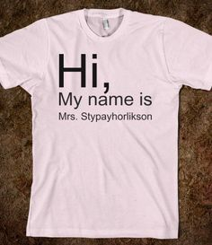 I know who needs this shirt! @Kaylee Stypayhorlikson! Check her out! She is amazing!