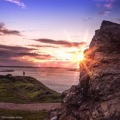 Gazing at a great week ahead. Howth Ireland  #travellerchris by traveller.chris